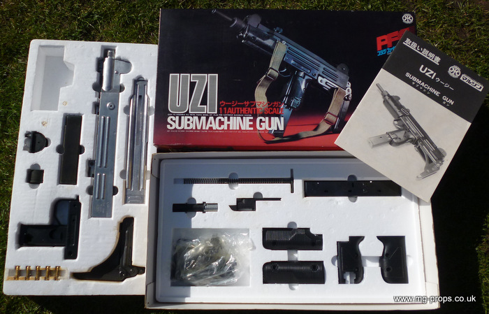 Building Uzi Submachine Gun From Parts Kit
